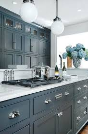 painting old kitchen cabinets ideas blue painted kitchen cabinets 23 gorgeous cabinet ideas navy design