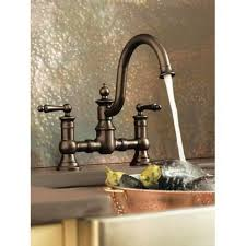 rubbed bronze kitchen faucets moen s713orb waterhill rubbed bronze two handle with sidespray