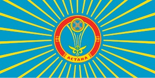 Flag Capital Flag Of Astana The Capital Of Kazakhstan Vexillology