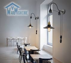 Vintage Wall Sconce Lighting Vintage Wall Lamp Fashion Antique Lighting American Style Lift