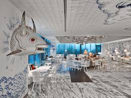 phillipe starck designs surreal nautical interior for miami u0027s