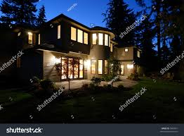 New House by New House Night Stock Photo 5307031 Shutterstock