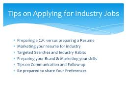 Tips On Making A Resume Tips On Writing A Science Industry Resume Sept 15 2015