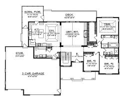 One Story Ranch House Plans Best 25 Simple Floor Plans Ideas On Pinterest Simple House
