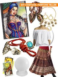 Halloween Costumes Gypsy Diy Thift Shop Halloween Costumes Fortune Teller Sweet