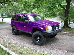 purple jeep finally got the patience to