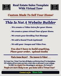 real estate video tour template