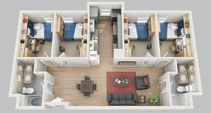 four bedroom floor plans floor plans madbury commons
