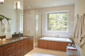 square white porcelain sink mounted mid century modern bathroom