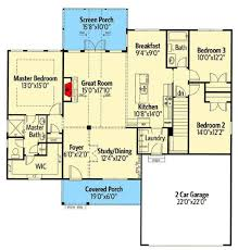 ranch style house plan 3 beds 2 baths 1683 sq ft plan 437 79