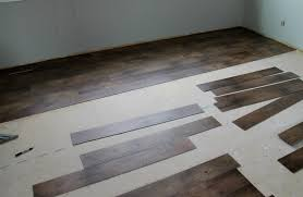 floor design cool brown vinyl plank peel and stick garage