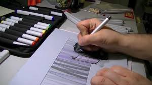 product design rendering using copic markers trudeau corporation