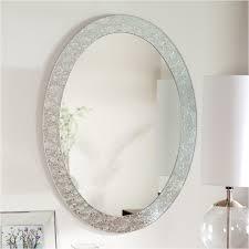 Bathroom Mirror Frames by Best 25 Oval Bathroom Mirror Ideas On Pinterest Half Bath