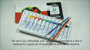 the importance of having acrylic nails acrylic paints and nail art brushes set from born pretty simply rins
