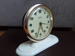 vintage alarm clock slava 11 jewels made in ussr soviet