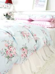 Shabby Chic Floral Bedding by Floral Bedding Set Duvet Cover Queen Sizequeen Size Covers Red