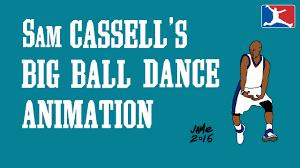 Sweating Balls Meme - sam cassell s big ball dance 5 minute animation youtube