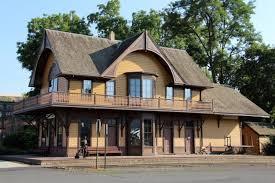the dayton depot in washington is charming for words