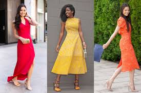 summer dress for wedding 6 ways to be the most stylish wedding guest of the summer