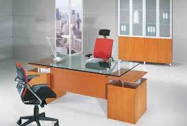 Modern Glass Top Desk Knightly Modern Executive Glass Top Desk On Sale Now For Half Price