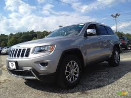 silver jeep grand cherokee 2015 billet silver metallic jeep grand cherokee limited 4x4