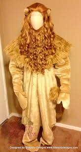 cowardly lion costume cowardly lion men s wizard of oz custom made screen