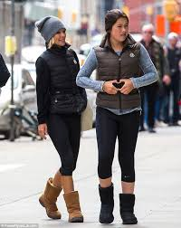 kelly ripa children pictures 2014 kelly ripa and daughter lola don matching puffa jackets leggings