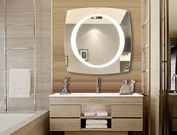 Lighted Bathroom Wall Mirror by Illuminated Bathroom Mirror Lighted Wall Mirrors For Bathrooms