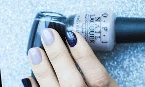 dark marbled nails seasonails