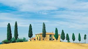 landscapes hillside italy houses golden wallpaper nature for
