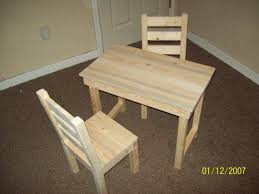 unfinished childrens table and chairs kids childs table and chair set unfinished furniture reclaimed