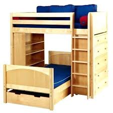bunk beds with dresser underneath large size of beds with desk