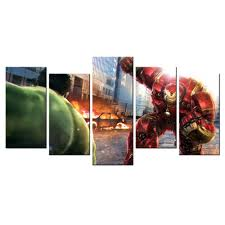 movie home decor movie poster avengers age of ultron wall decor painting home decor
