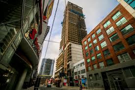 Picasso Laminate Flooring Picasso On Richmond Condos In Downtown Toronto Is Close To Topping Off