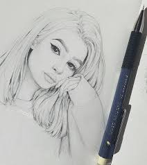 best 25 girl drawings ideas on pinterest drawings of people