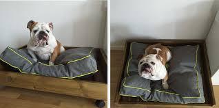 canapé pour chien grande taille diy d un panier pour chien en bois