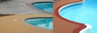 swimming pool deck repairs in ontario toronto rubber deck