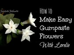 stephanotis flower easy gumpaste flowers stephanotis