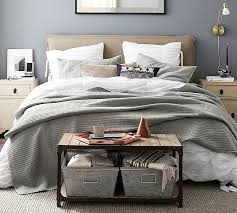 Slipcovers For Headboards by Carissa Upholstered Headboard Pottery Barn