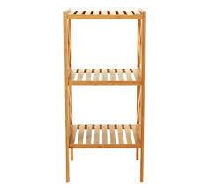 Bathroom Storage Units Uk Buy Collection Two Tier Bathroom Shelving Unit Bamboo At Argos