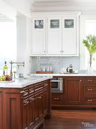 Light Wood Kitchen Cabinets by Best 25 Two Tone Cabinets Ideas On Pinterest Two Toned Cabinets
