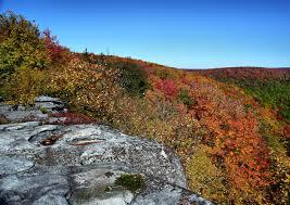 Table Rock Hike File Table Rock Wv Autumn Trees Virginia Forestwander Jpg