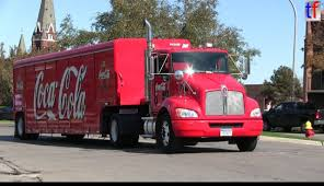 kenworth 2013 models kenworth coca cola truck 2013 youtube