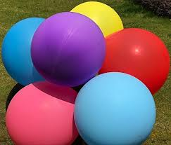 big plastic balloons big balloon 36 inch balloon reusable large