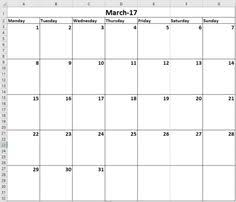 how to make a calendar template in excel create your own