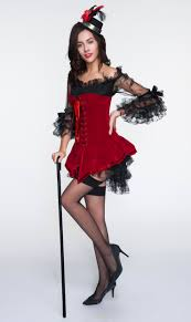 halloween corsets cheap 2pcs red velvet lace up corset u0026 black lace dress christms n10897