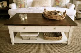 farmhouse style coffee table