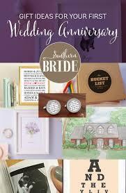 1st wedding anniversary gift ideas 1st wedding anniversary present ideas southern