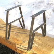 gorgeous steel picnic table legs 25 best ideas about metal table