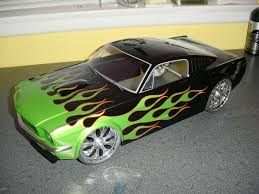 Black And Lime Green Mustang 200mm Touring Bodies Htm